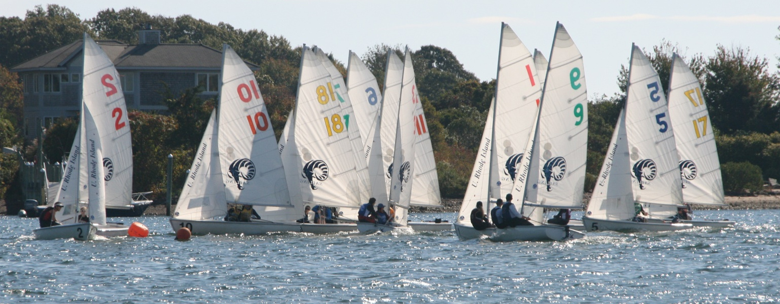 Fleet in the waters